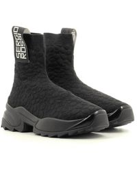 Sergio Rossi Extreme high top trainers - A86770 Negro