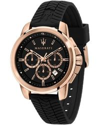 Maserati Watch Ur - R8871621012 - Zwart
