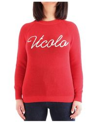 ViCOLO Crew-neck sweater - Rosso