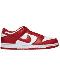 Nike Dunk Low University Red St. Johns - Rood