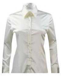 Robert Friedman Shiny blouse - Bianco