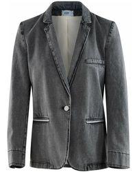 Forte Forte 8434 jacket - Grau