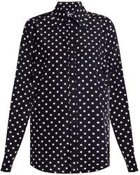 Dolce & Gabbana - Polka dot shirt - Lyst