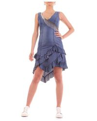 Yes-Zee Dress - Bleu