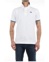 La Martina Rmp006-pk001 short sleeve polo - Bianco