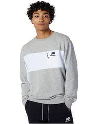 New Balance - Crew Sweatshirt - Lyst