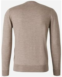Santa Eulalia Cashmere V-Neck Sweater Beige - Neutro
