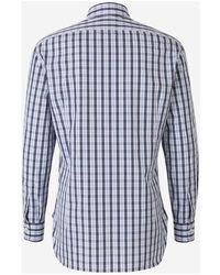 Kiton Plaid shirt Blanco