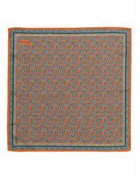 Eton Pocket square - Orange
