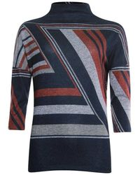 Poools Sweater Graphic - Blauw