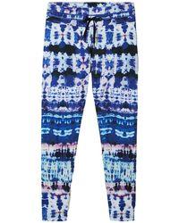 Desigual Pantalones - Blauw