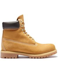 Timberland 6 Inch Boots - Geel