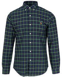 Polo Ralph Lauren Slbdppcs Long Sleeve Shirt - Groen