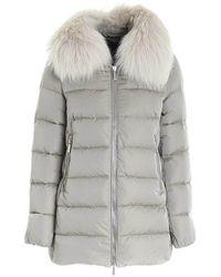Moorer Coat - Grau