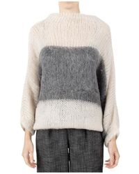 Erika Cavallini Semi Couture Semi-couture Sweaters - Naturel