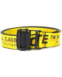 Off-White c/o Virgil Abloh Belt - Geel