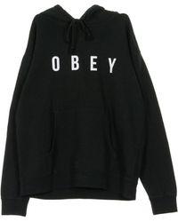 Obey Anyway Hoodie - Schwarz