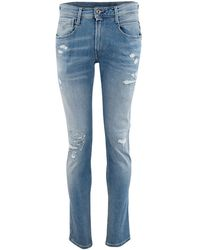 Replay Jeans M914y 000 141 908 - Blauw