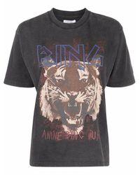 Anine Bing T-shirt - Nero