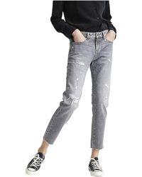 Denham LIZ Ankle Grndsm jeans - 02200211015-Grndsm - Grau