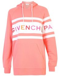 Givenchy Embroidered Hoodie - Roze