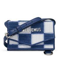 Jacquemus Le Porte Azur Shoulder Bag - Blauw