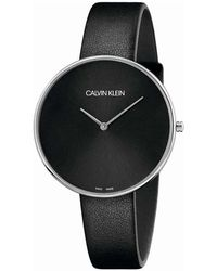 Calvin Klein Full Moon Watch - Zwart