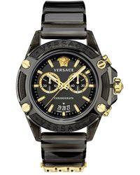 Versace Icon Active Chronograaf Vez700421 Watch - Zwart
