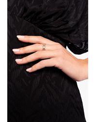 Tory Burch Ring with Swarovski crystals Amarillo - Neutro