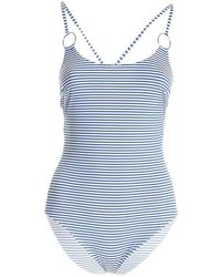 Max Mara Swimsuit 38311618600 003 - Blauw