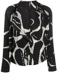 Issey Miyake Coat - Zwart