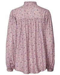 Lolly's Laundry Cara Shirt Flower Print - Rose