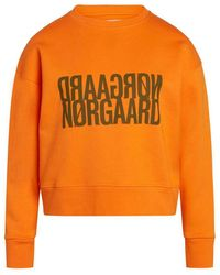 Mads Nørgaard Tilvina Sweatshirt 200767 - Oranje