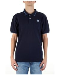 North Sails Short Sleeve T-shirt - Blauw