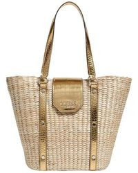 Guess Paloma Tote - Geel