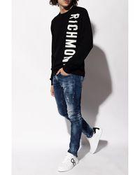 John Richmond Wool sweater - Noir