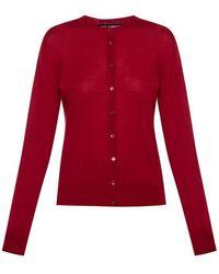 Dolce & Gabbana Cashmere cardigan - Rosso