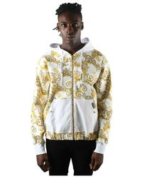 Versace Jeans Couture Coat - Bianco