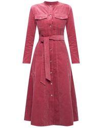 Samsøe & Samsøe Corduroy dress - Pink