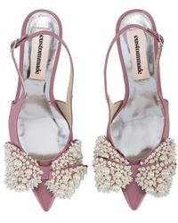 Custommade• Alima Pearl Shoes - Rosa