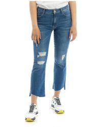 Manila Grace Jeans - Blu
