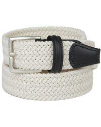 Santa Eulalia Braided Belt - Wit