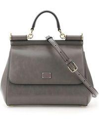 Dolce & Gabbana Medium Sicily Bag - Grijs