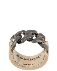 Alexander McQueen Ring - Geel
