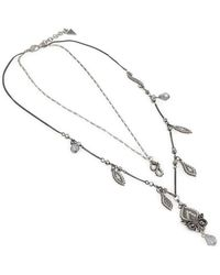 Guess Necklace Ufn10821 - Grau