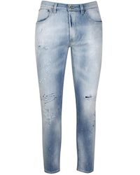 Dondup Brighton Ay6 Jeans - Blauw