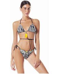 4giveness Bikini Triangolo Fgbw0720-200 - Nero