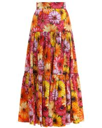 Dolce & Gabbana Skirt F4a8qths5lc - Oranje