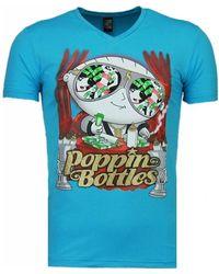 Diane von Furstenberg Poppin Stewie - T-shirt - Blau