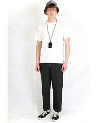 Stussy - T-Shirt Blanco - Lyst